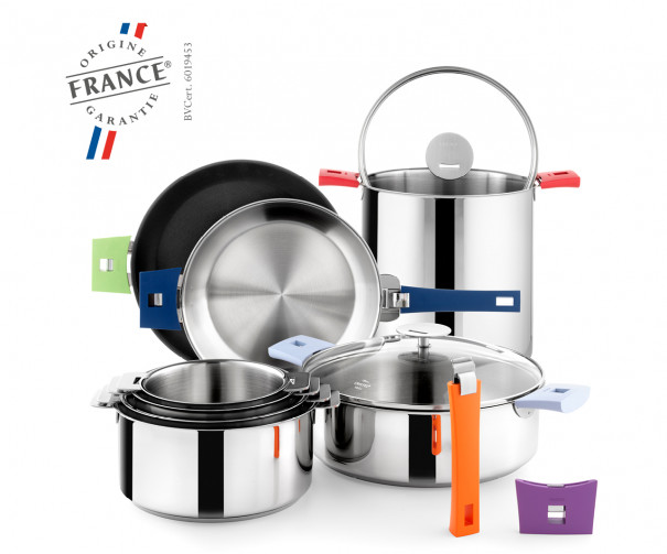 Cristel, French manufacturer of saucepans, frying pans and