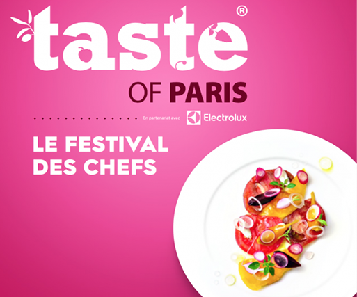 Salon Taste of Paris 2017 ! Du 18 au 21 mai 2017 !