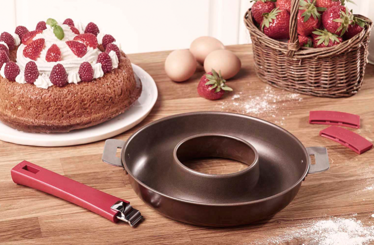 Pastry moulds with removable handle collection - 1
