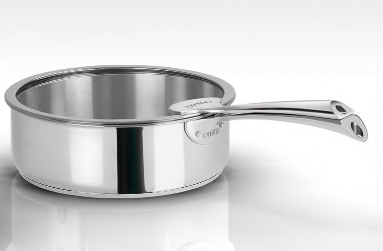 collection casteline casseroles et po les inox cristel. Black Bedroom Furniture Sets. Home Design Ideas