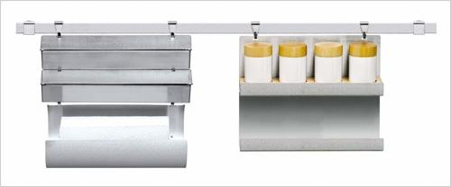 d rouleur de papier cuisine pratique cristel. Black Bedroom Furniture Sets. Home Design Ideas