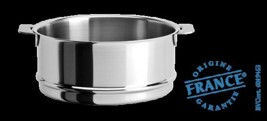 El ment cuit vapeur inox strate amovible cuisson - Panier cuit vapeur inox ...
