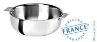 Stainless sauce pot - Removable Casteline - Cristel