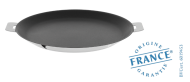 Stainless pancake pan - Exceliss non-stick coating - Removable Mutine - Cristel