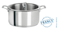 Stainless stock pot - Fixed Casteline - Cristel