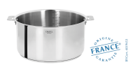 Stainless stock pot - Removable Casteline - Cristel