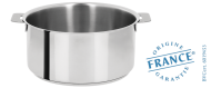 Stainless stock pot - Removable Mutine - Cristel