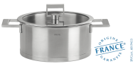 Stainless stock pot - Fixed Strate - Cristel
