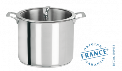 Stainless cooking pot - Fixed Casteline - Cristel