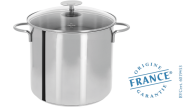 Stainless cooking pot - Fixed Mutine - Cristel