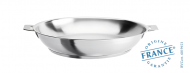 Stainless deep frying pan - Removable Strate - Cristel