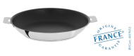 Stainless frying pan - Exceliss non-stick coating - Removable Mutine - Cristel