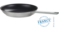 Stainless frying pan - Exceliss non-stick coating - Fixed Strate - Cristel