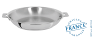 Stainless frying pan - Removable Casteline - Cristel