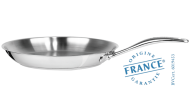Stainless steel fryingpan - Cookway Master inox by Cristel - Cristel