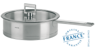 Stainless sauté pan - Fixed Strate - Cristel